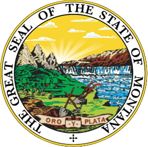 The Great Seal of the Montana State