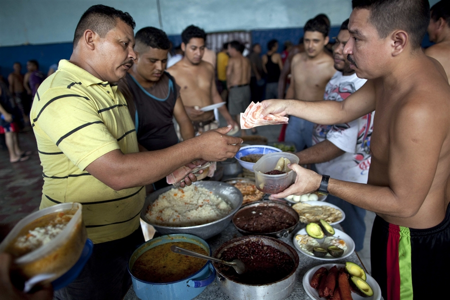 inmates operate a free-market bazaar