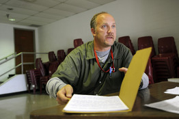 Bradley Birkenfeld at Schuylkill County Federal Correctional Institution in Minersville, Penn., in April 2009