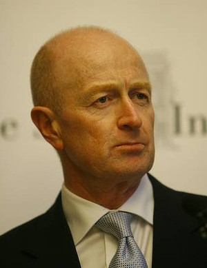 Reserve Bank governor Glen Stevens
