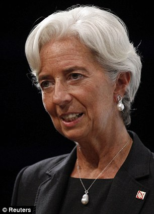 IMF chief Christian Lagarde